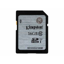 Kingston geheugenkaart 16GB SDHC klasse 10