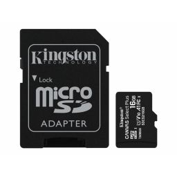 Kingston Micro SDHC geheugenkaart 16GB klasse 10
