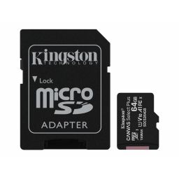 Kingston Micro SDHC geheugenkaart 64GB klasse 10