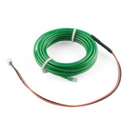 High brightness, long-life EL wire - lengte: 3m - groen