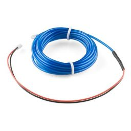 High brightness, long-life EL wire - lengte: 3m - blauw