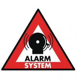 Alarm sticker 5st
