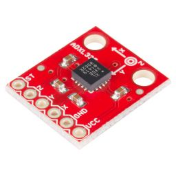 ADXL335 5V ready triple axis accelerometer Sparkfun