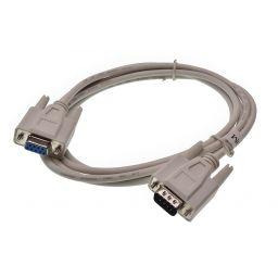 Ser9MF Null-modemkabel - 9-pin vrouwelijk  9-pin mannelijk