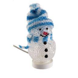 Decoratieve  USB sneeuwman blauw