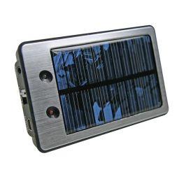 Lader op zonne-energie met herlaadbare Li-Ionbatterij - 3,7V / 2000mAh ***