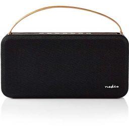 Bluetooth Speaker - 15W - Zwart/Bruin - IPX5 *
