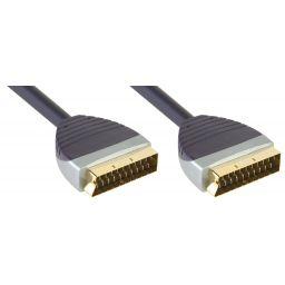 SCART Kabel SCART Male - SCART Male 2.00 m Zwart