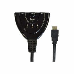 3-weg HDMI schakelaar