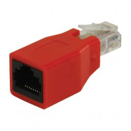 RJ45 CAT- 6 crossover adaptor