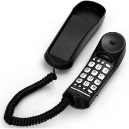 Bureau telefoon zwart TX-105