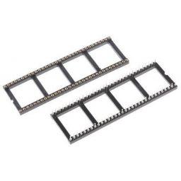 IC-voet - 64-polig - Vergulde tulpcontacten - 22.86 mm - Stap: 2,54mm
