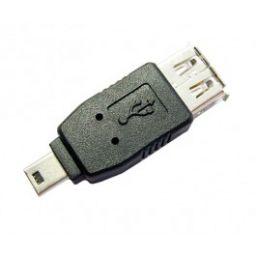 USB A Vrouwelijk  Mini USB B Mannelijk*
