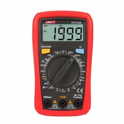 Compacte Digitale multimeter - Manual range - basismodel