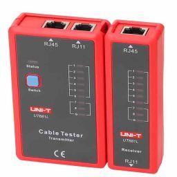 Eenvoudige LAN Kabel tester (RJ45, RJ11) - UNI-T