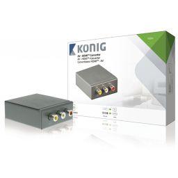 HDMI-Converter 3x RCA Female - HDMI-Uitgang