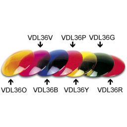Kleurfilter Ø110mm voor PAR 36 - Blauw