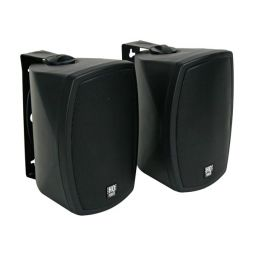 "Set van 2 dynamische tweeweg 5"" luidsprekerboxen 2 x 120w 16 ohms / 100v"