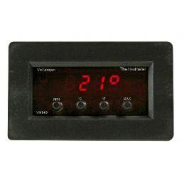 Digitale paneelthermometer met min/max uitlezing