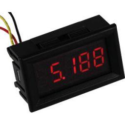 4 digit voltmeter 3.5V - 33VDC