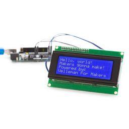 I²C Blauwe LCD