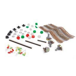 Kit met accessoires + transparante opbergdoos - XM234