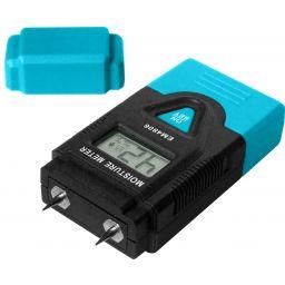 Compacte vochtdetector voor hout en geharde materialen