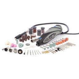 Elektrische precisieboor & graveerset - 190 stuks - XM250