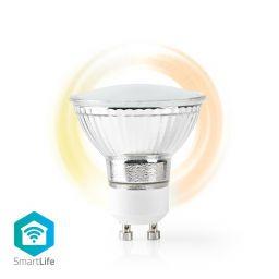 Wi-Fi smart LED-lamp - Warm- tot Extra warm Wit - GU10 - Nedis SmartLife