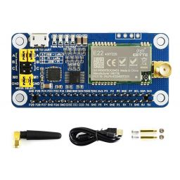 Waveshare SX1268 LoRa HAT voor Raspberry Pi, 433MHz Frequency band.