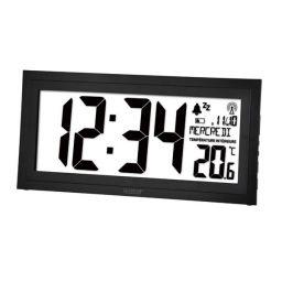 DCF wandklok met kalender, Vochtigheid, Temperatuur en Alarm
