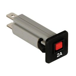 Automatische zekering - 2A - 250VAC