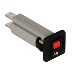 Automatische zekering - 4A - 250VAC