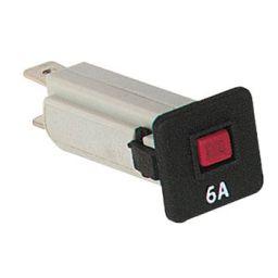 Automatische zekering - 6A - 250VAC